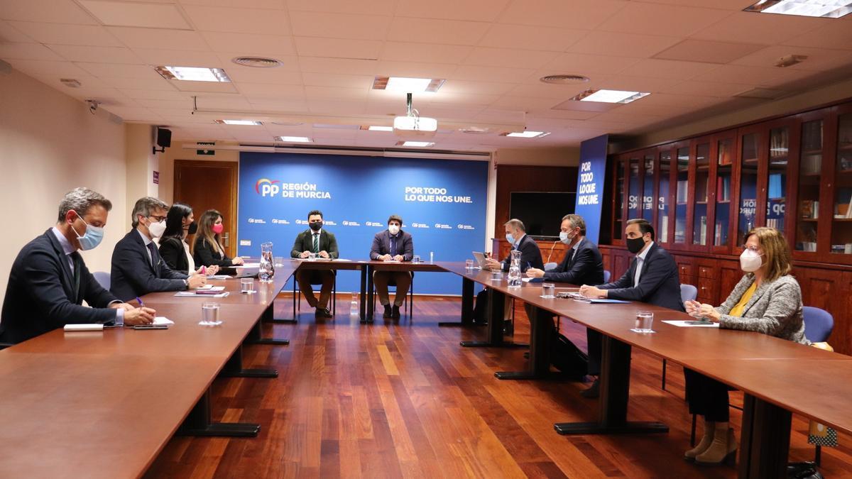Primera reunión del Comité de Dirección del PPRM
