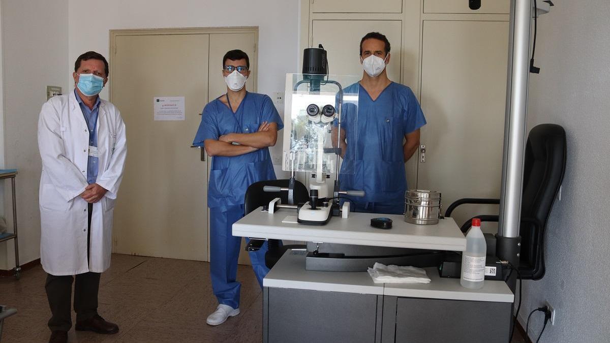 El Reina Sofía aplica por primera vez en Andalucía una técnica que abre nuevas posibilidades en los trasplantes de córnea
