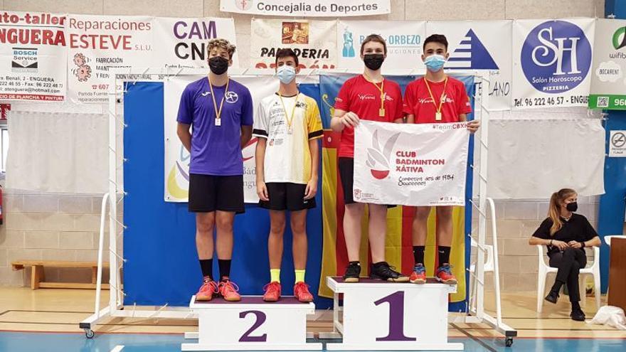 Los deportistas del C. B. Xàtiva suman doce medalles durante el fin de semana