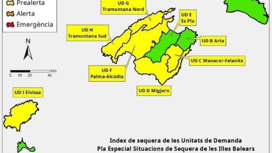 Warnung vor Rückgang bei Wasserreserven auf Mallorca