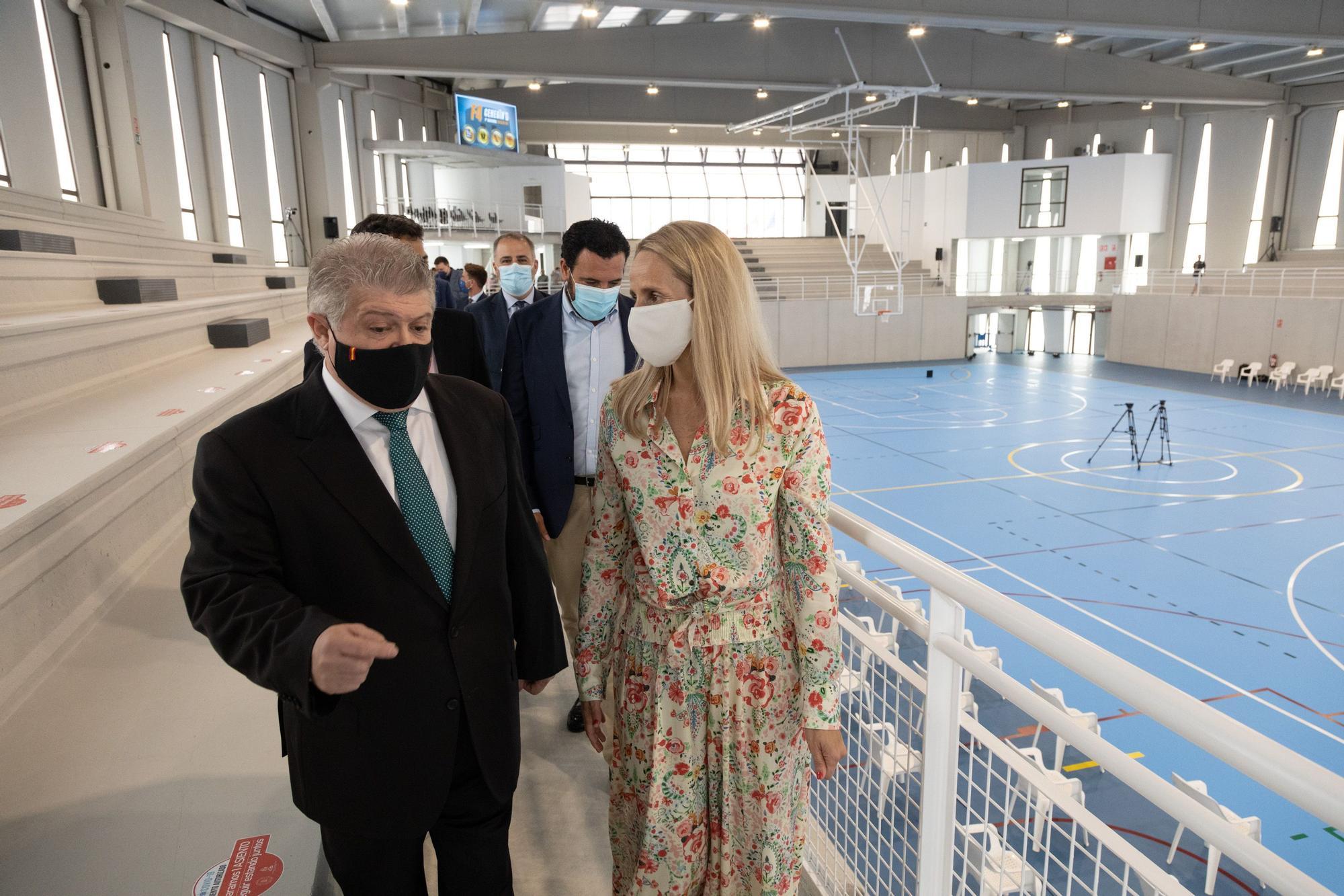 Inauguración del nuevo Pabellón Deportivo de Cehegín
