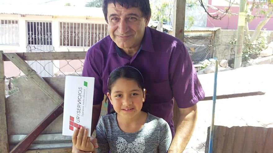 L'empresari gironí que estava atrapat a Hondures amb la seva filla torna a casa