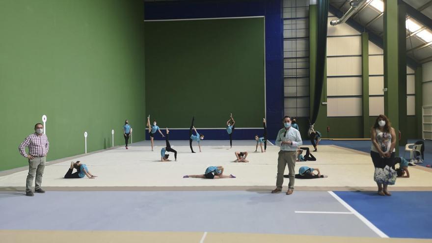 La cubrición del frontón de La Rosaleda en Benavente suma espacio a las instalaciones deportivas