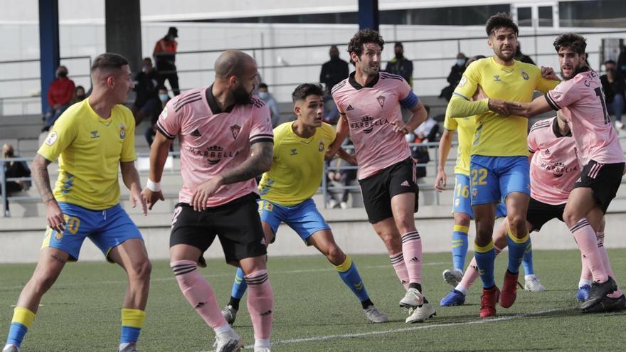 El Marbella FC araña un punto en Las Palmas