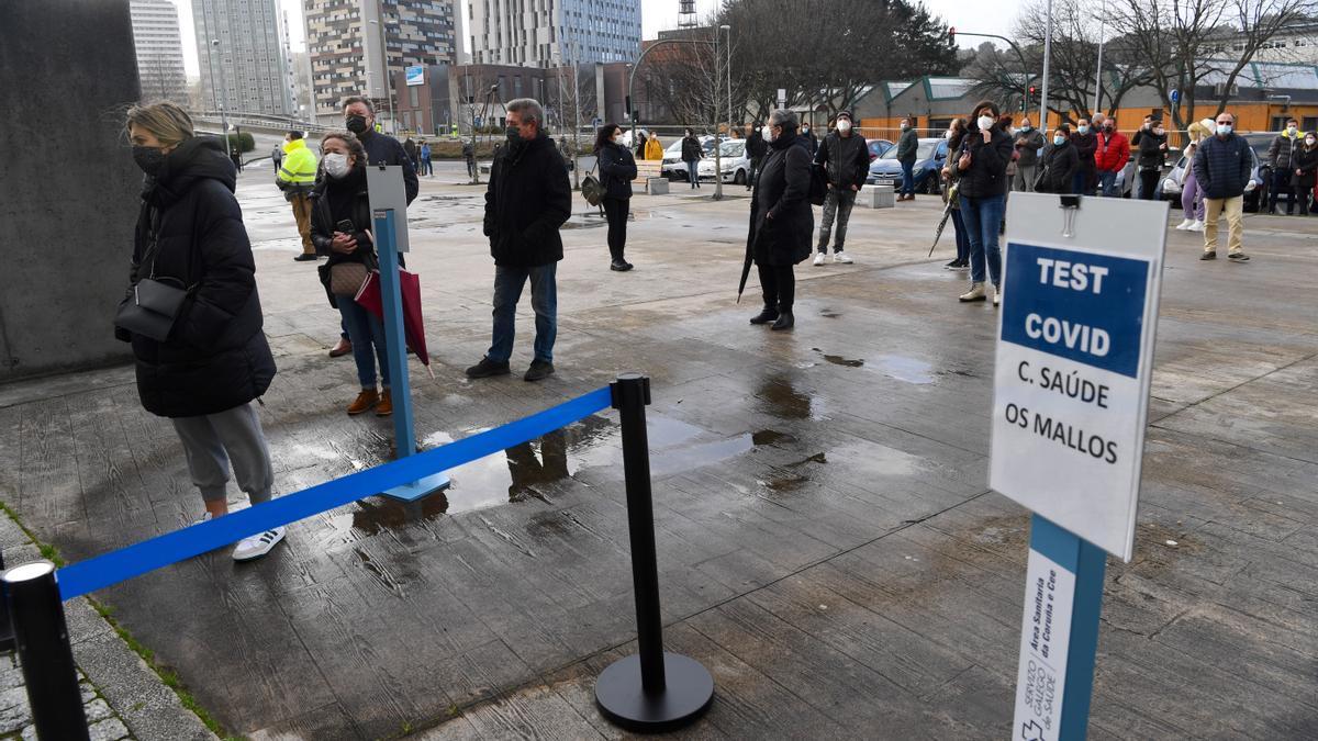 Cribado masivo en A Coruña.