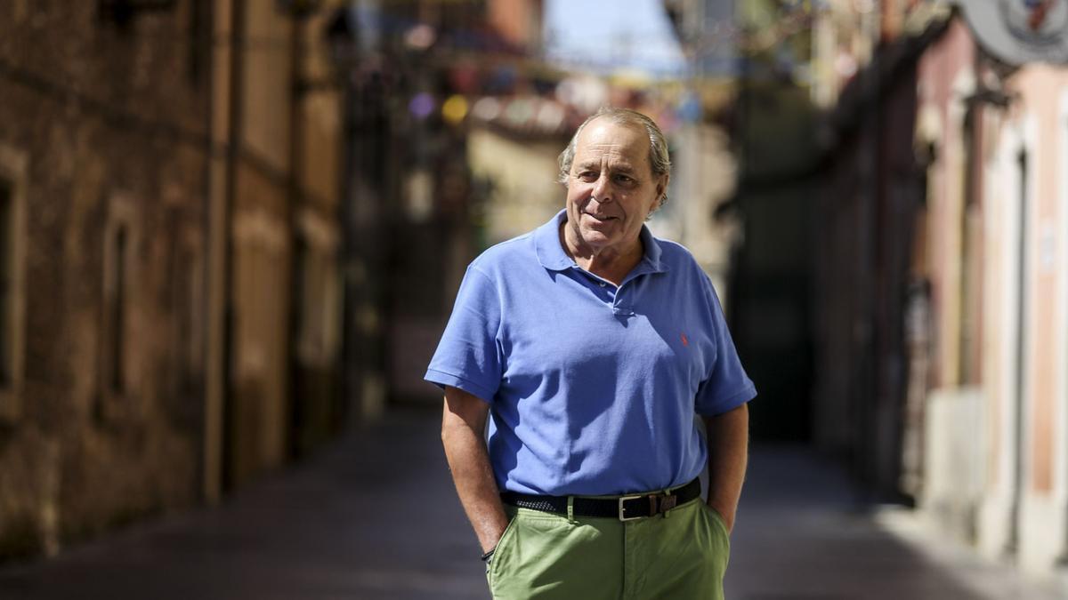 Alfonso Peláez, en Cimadevilla.