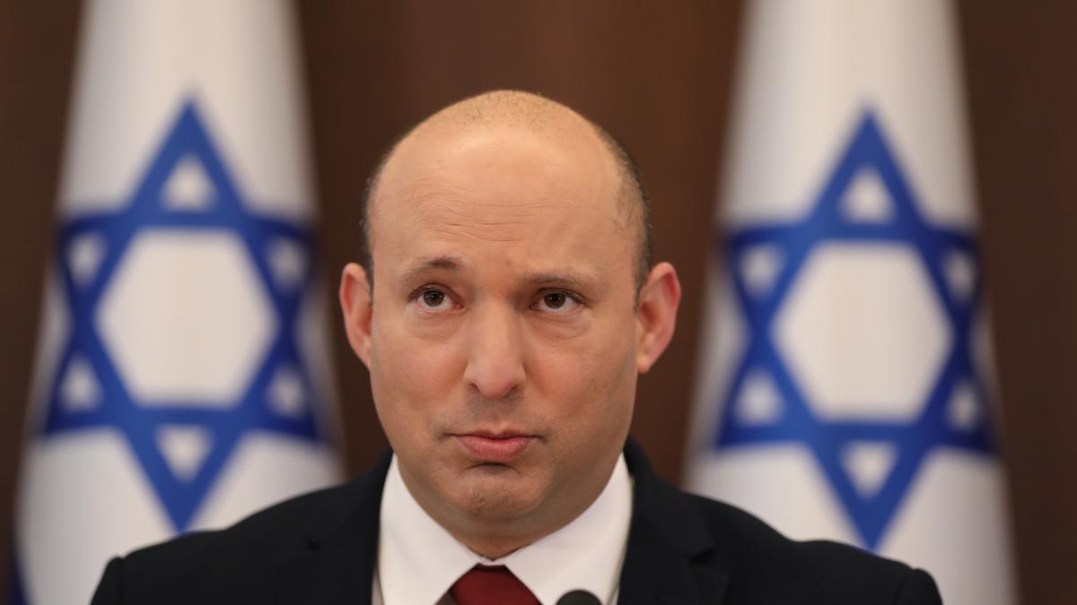 El primer ministro israelí, Naftali Bennett.