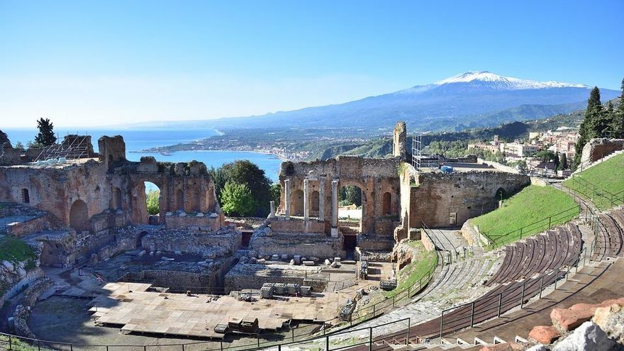 Taormina: Fuego y agua