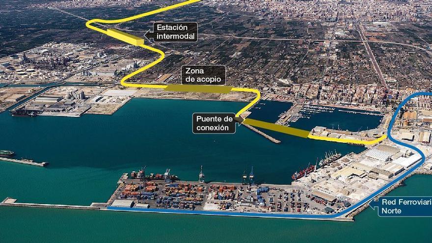 Castelló entra en la élite portuaria con la nueva conexión ferroviaria