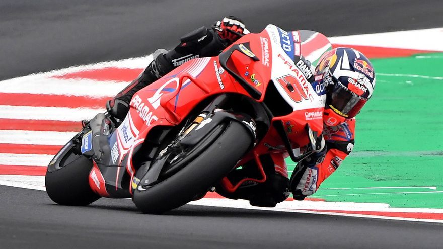 Sigue en directo la carrera del GP de Emilia Romaña de MotoGP