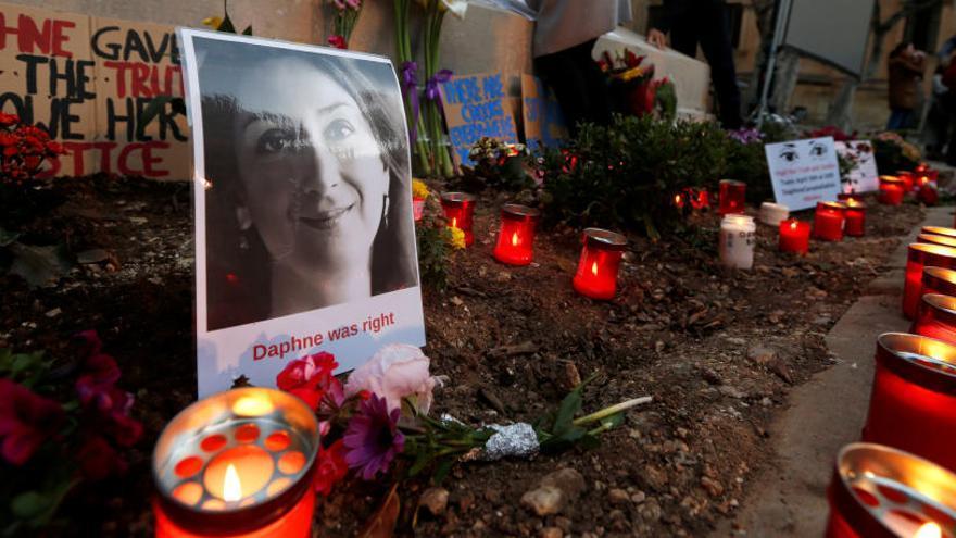 Detenido un empresario maltés por el asesinato de la periodista Daphne Caruana