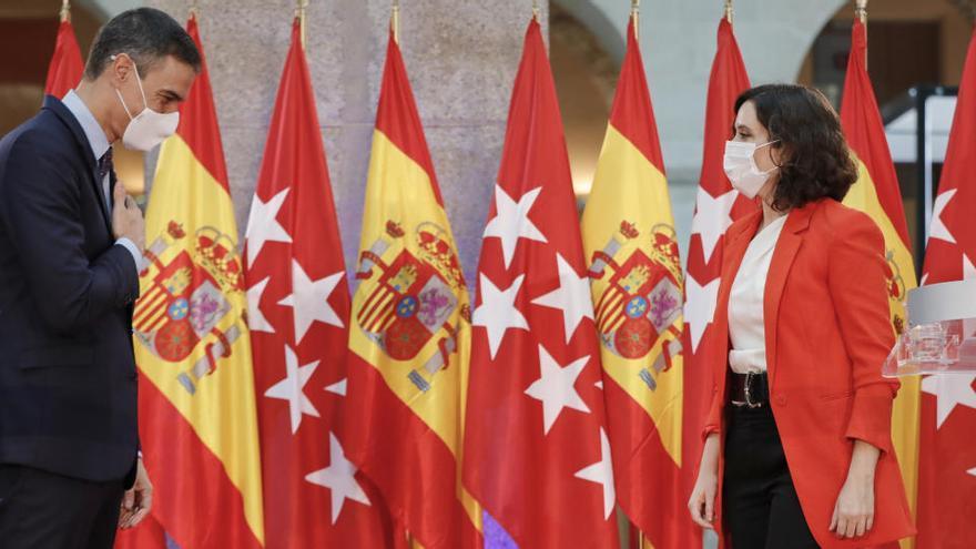 La coordinación entre el Gobierno central y Madrid duró cuatro días