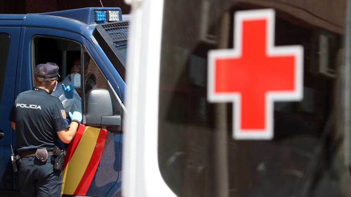 Los contagios en el brote de la Cruz Roja se van estabilizando.