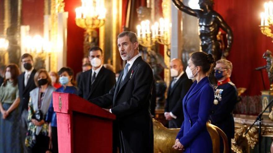 """El rey aboga por una """"vacunación solidaria"""" liderada por la Unión Europea"""
