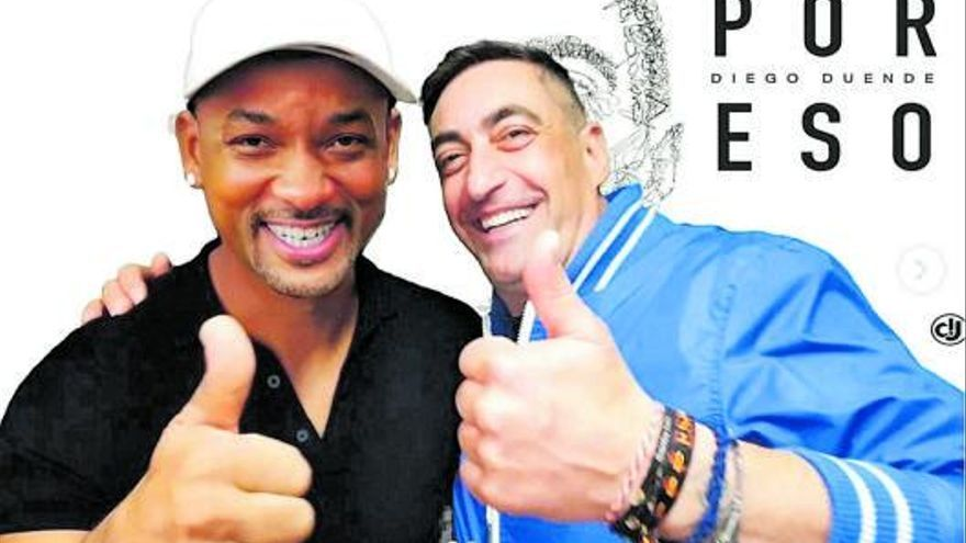 "Will Smith, ""padrino"" de  un dj zamorano"