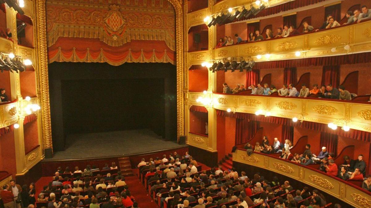 El Teatre Municipal de Girona, en una imatge d'arxiu.