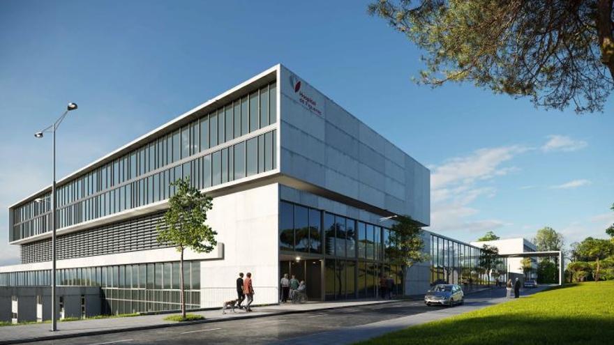 L'Hospital de Figueres preveu invertir 23,3 milions per ampliar el centre fins al 2040