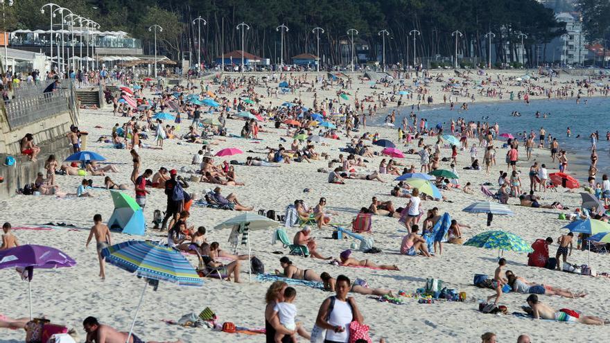 Galicia enfila el 'finde' hirviendo a más de 30º