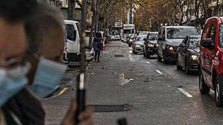 El PSOE de Zamora propone ganar espacio peatonal en la calle de Tres Cruces