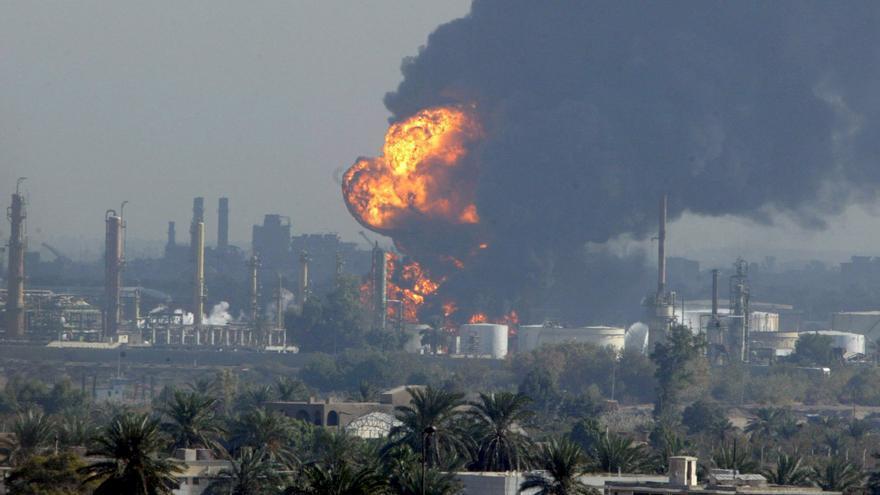 La Embajada estadounidense en Bagdad intercepta 3 cohetes con su sistema antimisiles