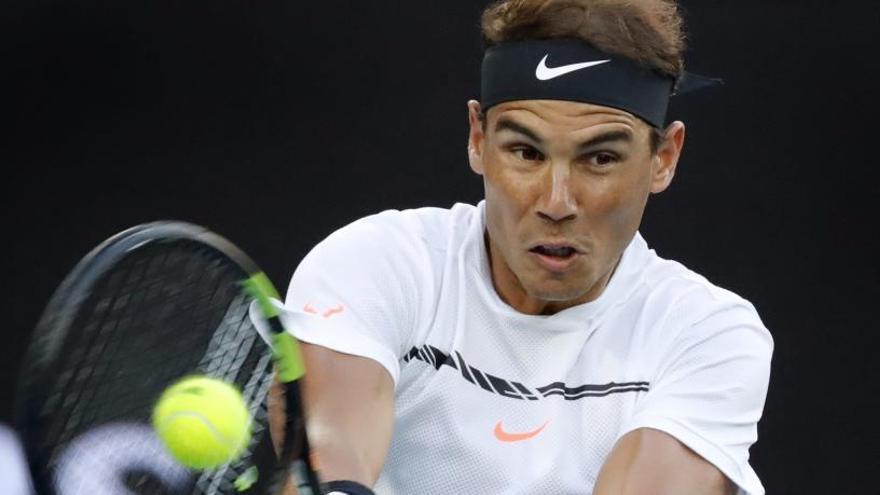 Nadal, a semifinales contra Dimitrov tras batir a Raonic