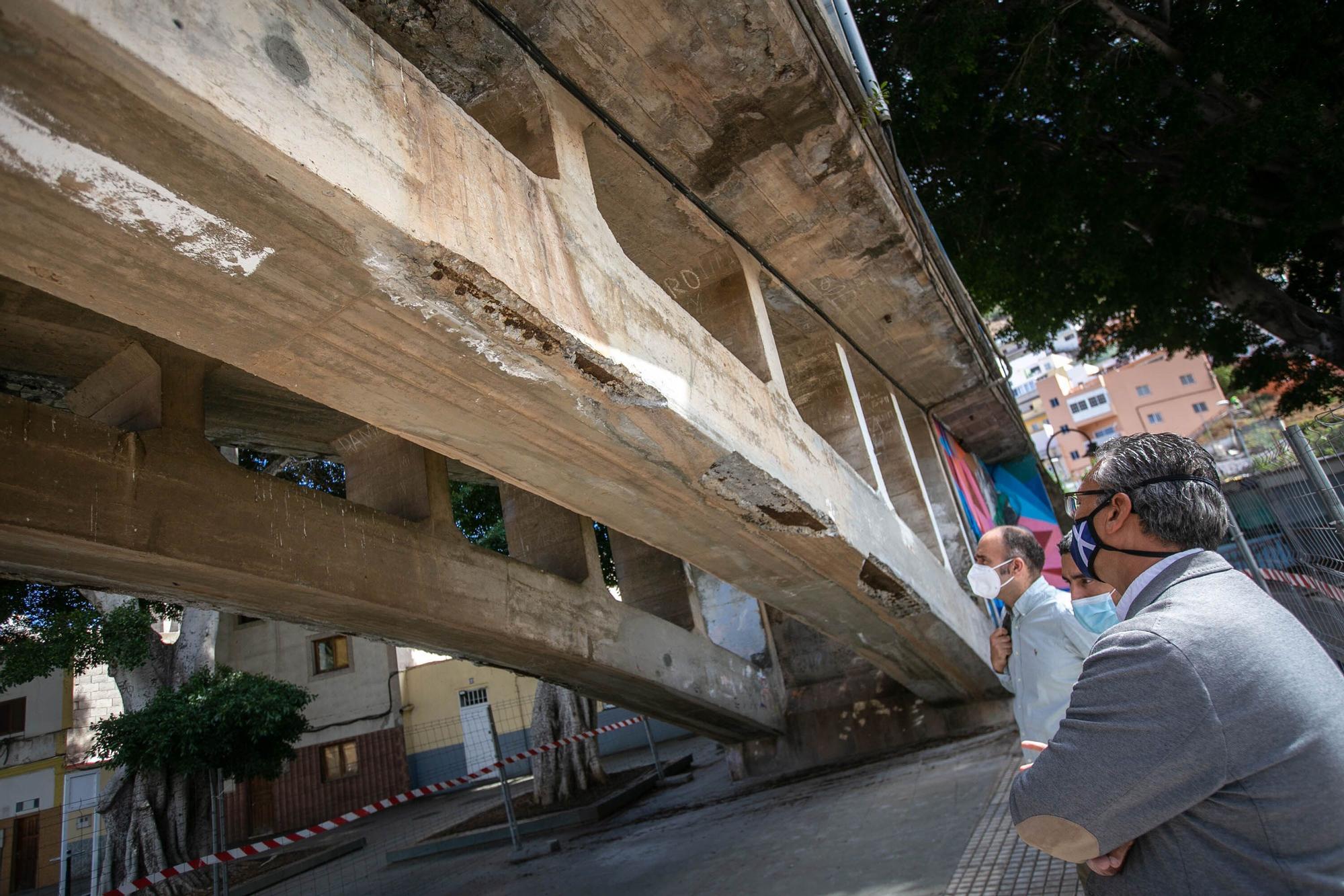 Reunión con los vecinos de Anaga para informar sobre la situación del Puente de San Andrés