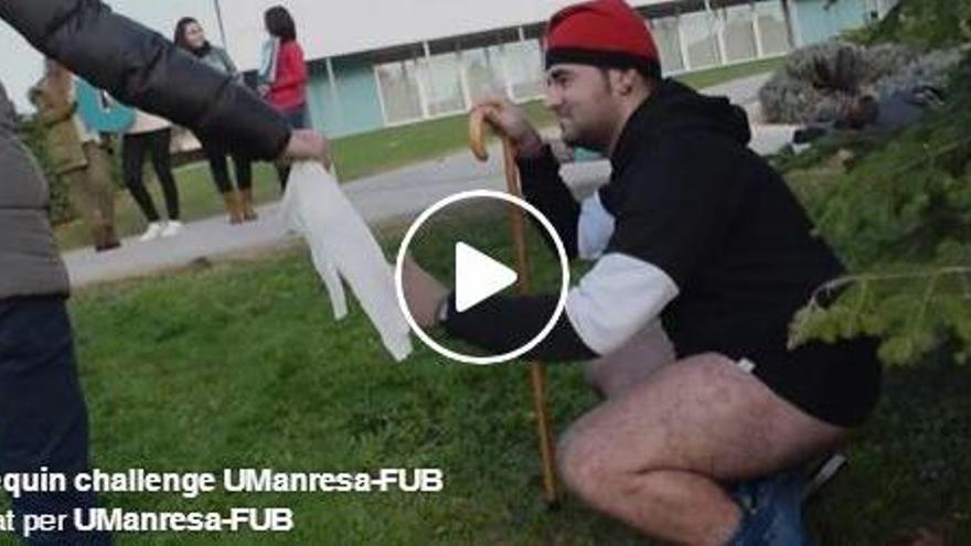VÍDEO: La FUB s'apunta a la moda del 'mannequin challenge'