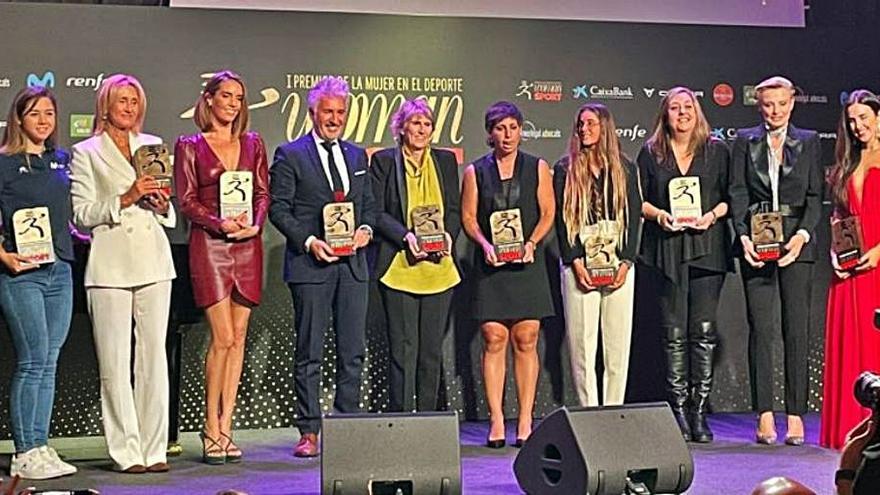 Woman y Sport premian a la mujer en el mundo del deporte