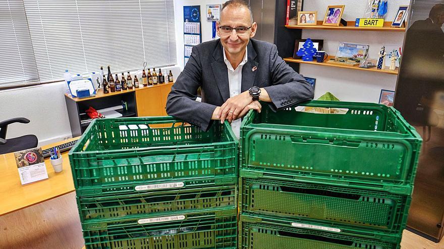 El auge de los supermercados durante la pandemia da alas a la alicantina Euro Pool System