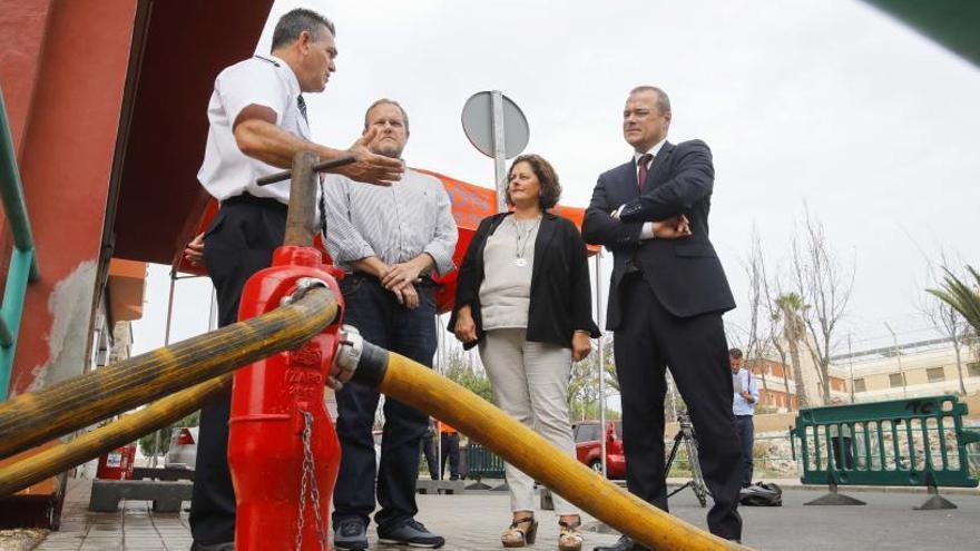 San Nicolás estrena una nueva red de hidrantes