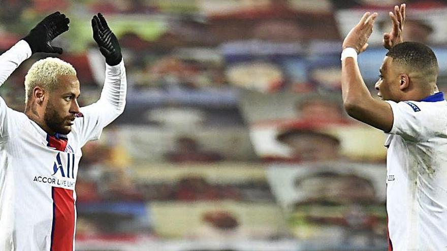 Neymar fuerza de nuevo para dejar el PSG