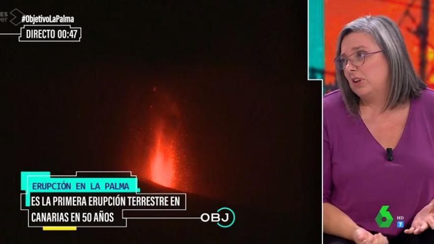 El esperanzador mensaje de una vulcanóloga sobre La Palma en 'El Objetivo'