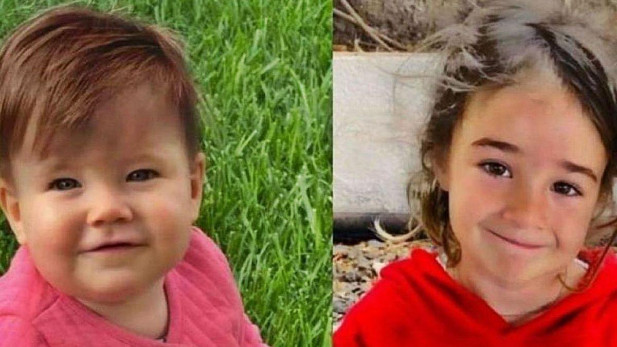 Anna y Olivia, las niñas desaparecidas en Tenerife junto a su padre.