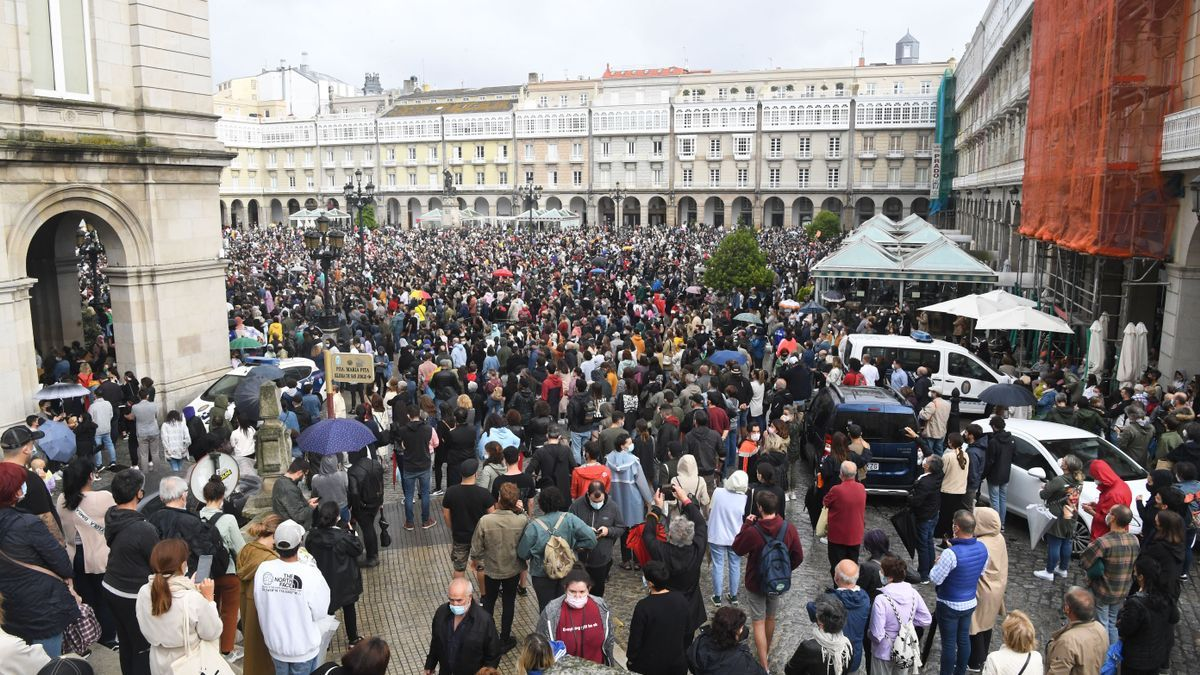 Concentración en A Coruña
