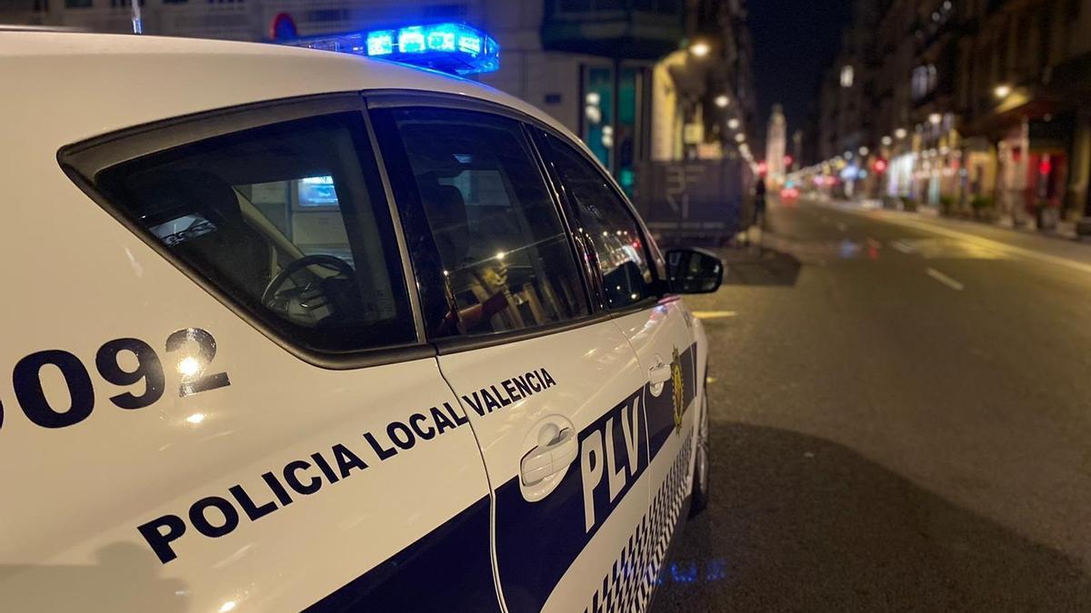 Policía Local de València.