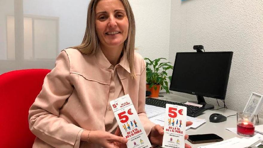 Darán 14.000 bonos de 5 € para gastar en comercios de Alcalà