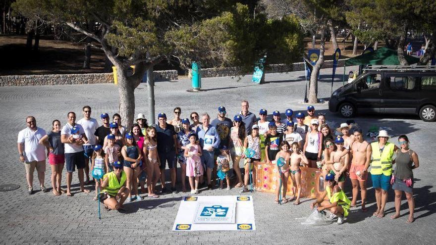 Kampf dem Plastik: Lidl initiiert Strandreinigung in Santa Ponça