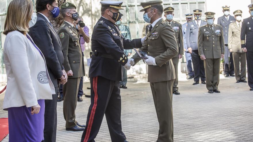 La Subdelegación de Defensa celebra su día con entrega de medallas y condecoraciones