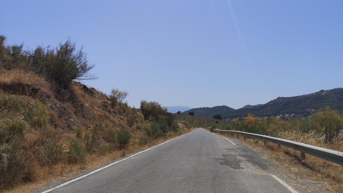 Imagen de archivo de la carretera MA-5402