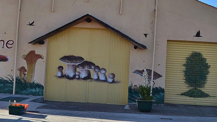 La fauna ilustra el muralismo en Sanabria
