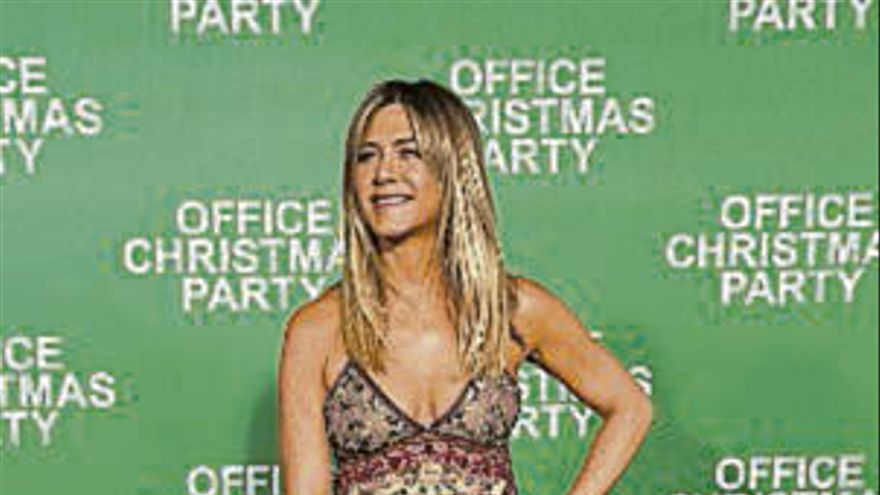 Aniston será dama de honor en la boda de Cox