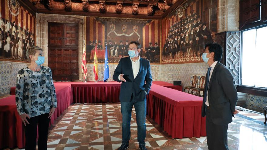 Puig felicita la victoria de Biden a representantes del Partido Demócrata en la Comunidad Valenciana