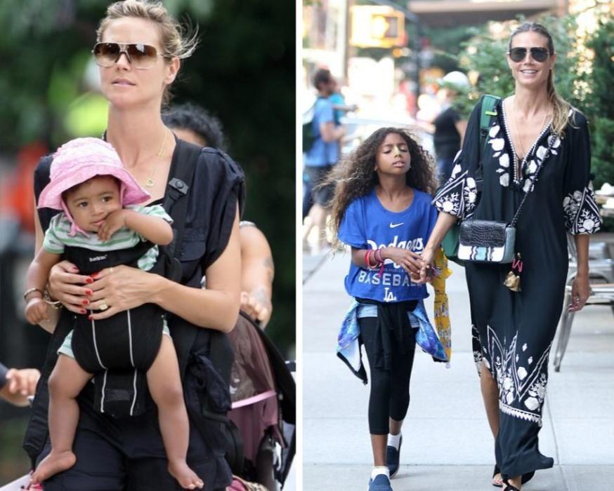 La hija de Heidi Klum y Seal.