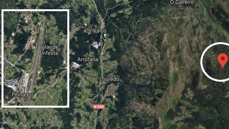 La tierra tiembla a siete kilómetros de Peinador