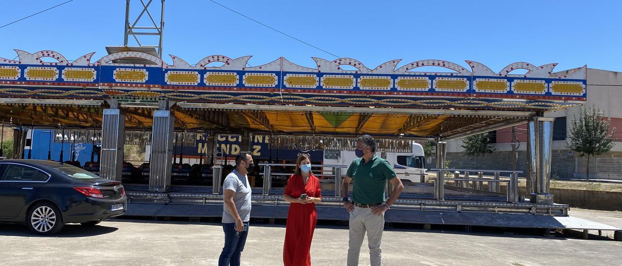 El Ayuntamiento de Coria impulsa una feria de atracciones desde hoy jueves hasta el domingo