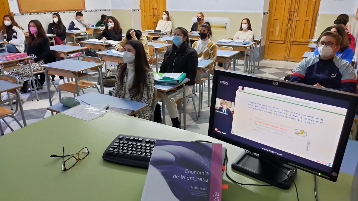 Participantes en las jornadas de Edufinet.