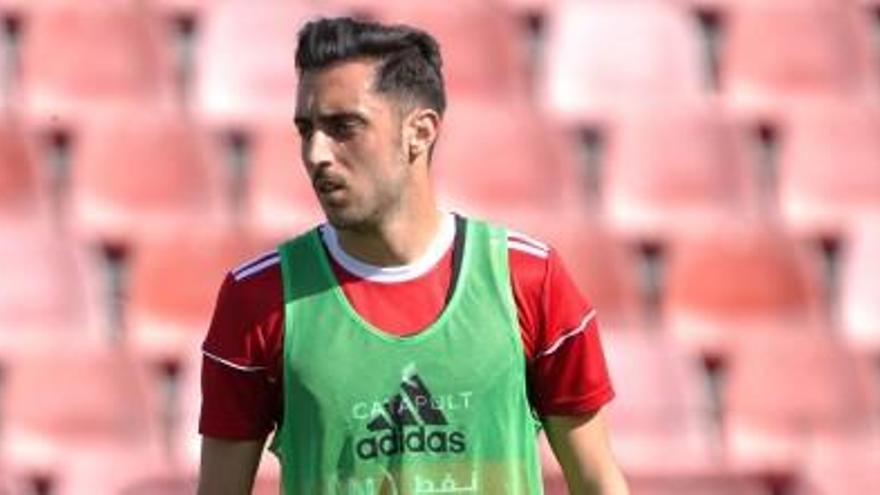 El centrocampista Sergio Aguza, otro refuerzo para el FC Cartagena