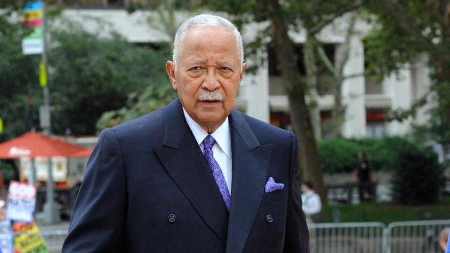 Muere David Dinkins, el único alcalde negro de Nueva York