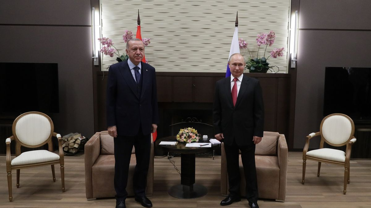 Erdogan y Putin.