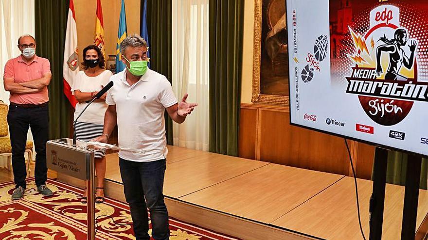La X EDP Media Maraton de Gijón tendrá un máximo de 1.250 participantes